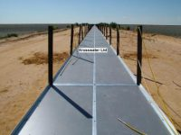 810m walkway with cable handrail